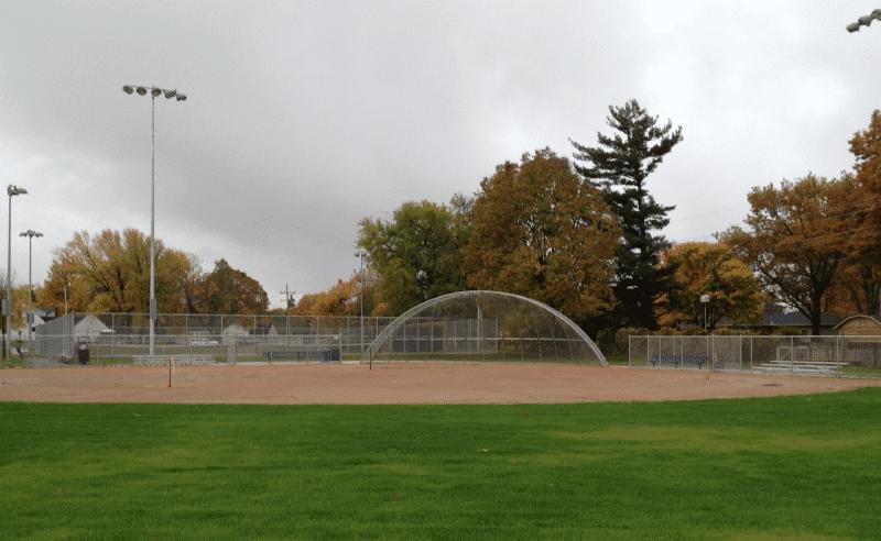 Upland Design - Engstrom Park Playground - Rubber Mound