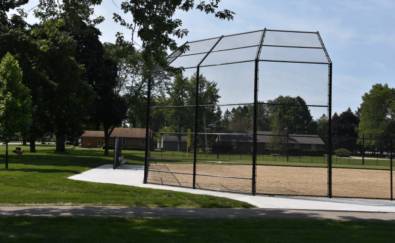 Carpenter Park - Baseball Backstop