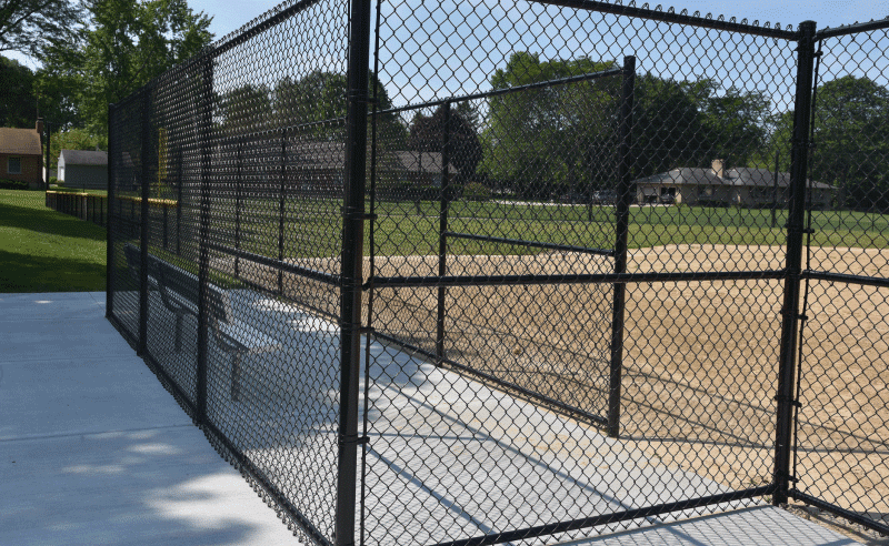 Carpenter Park - Baseball Dugout