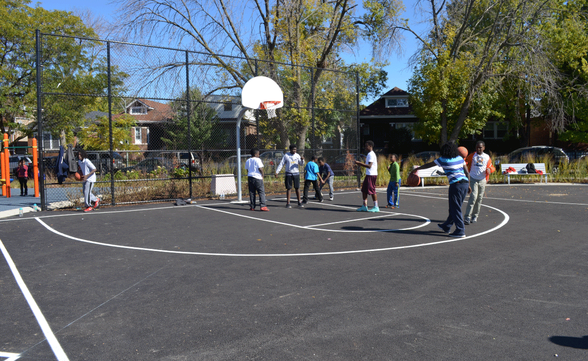 Morril Elementary Improvements - Basketball Court
