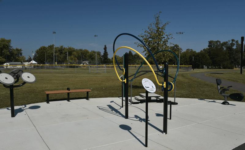Garnsey Park - Fitness Station