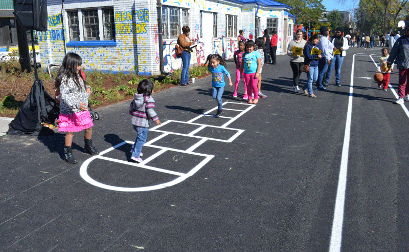 Moril Elementary Improvements - Hopscotch