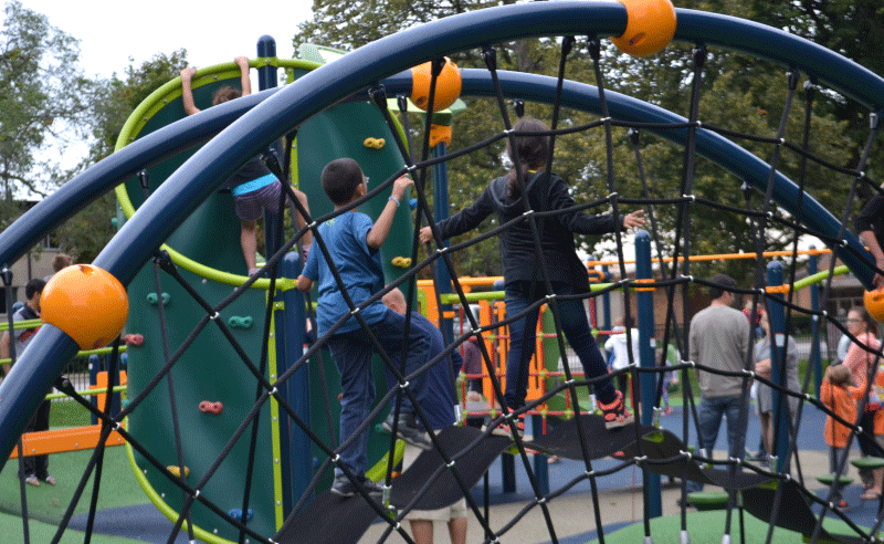 Hiawatha Park - Net Climber