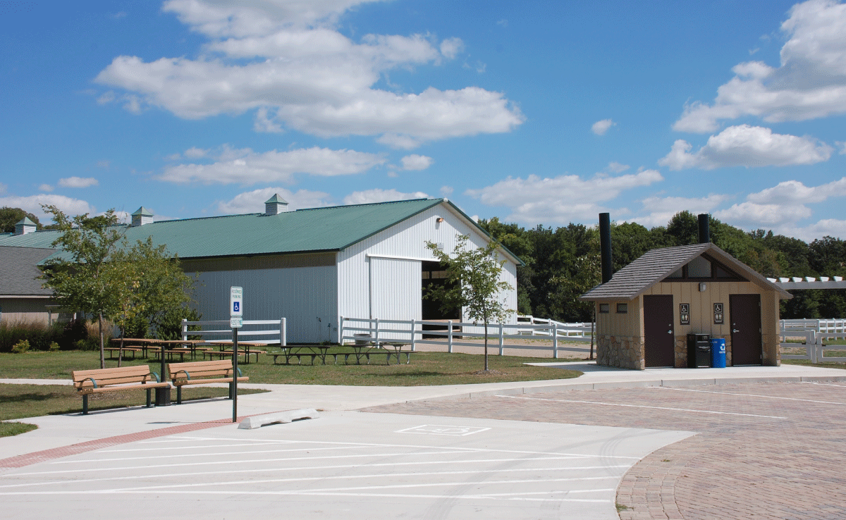 Bakers Woods Parking and Restrooms