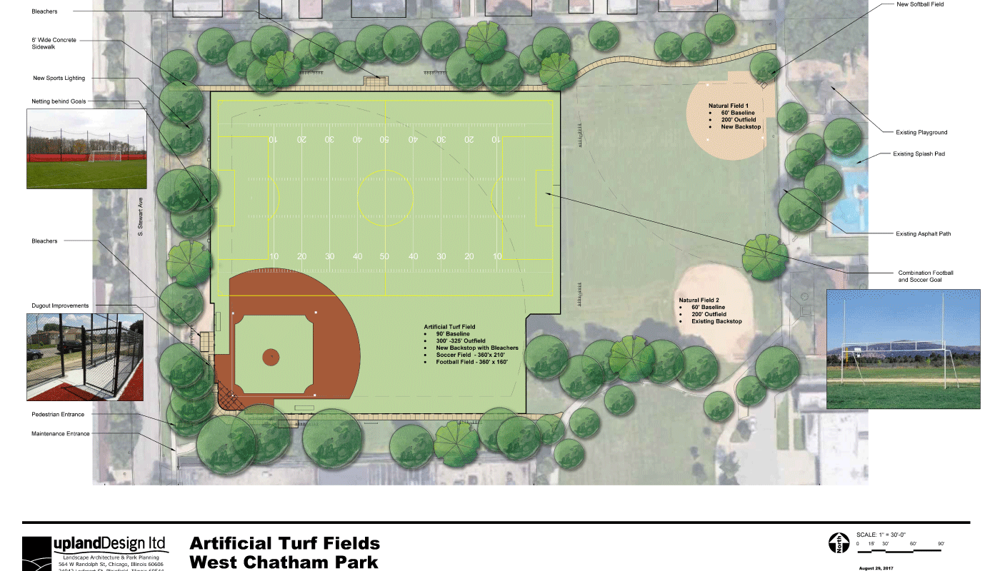 West Chatham Park - Master Plan- Upland Design