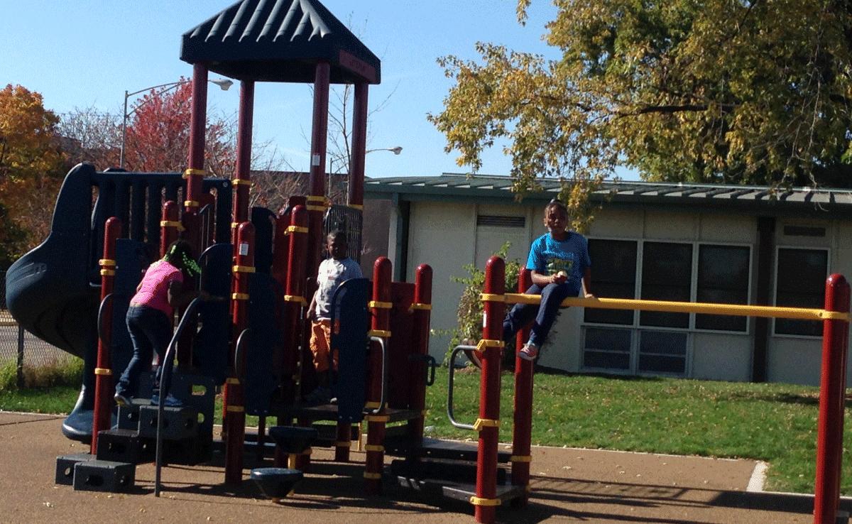 Leland Elementary Playground - Playground Fun