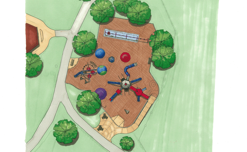Shabbona Park - Site Plan