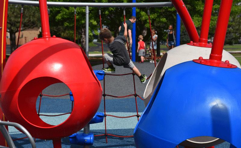 Upland Design - Engstrom Park Playground - Pods