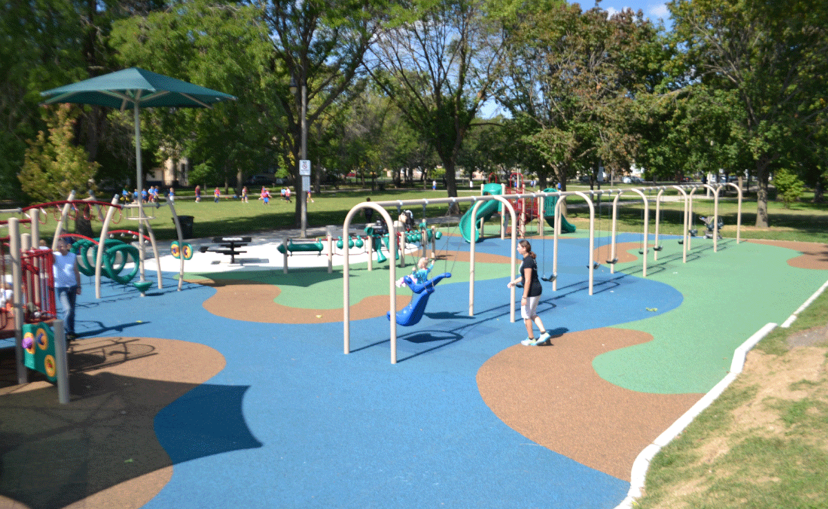 Shabbona Park - Swings