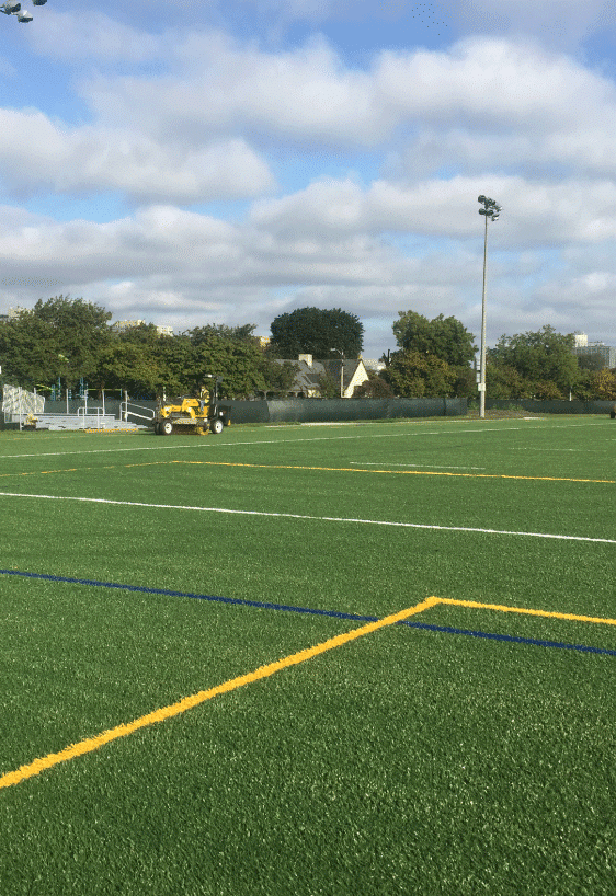 Upland Design - Chicago Fire Complex Artificial Turf